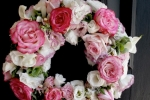 Pink20white20door20wreath